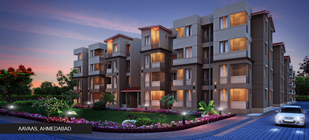 Aavaas by Pacifica Companies | 1 & 2 Bhk Apartments/Flat For