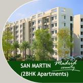 2BHK Apartments Vadodara - San Martin