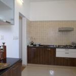 La Habitat Sample house kitchen area