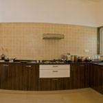 La Habitat sample house kitchen interior design