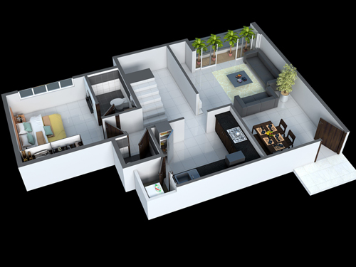 Type-B-lower-Floor-1700-1720-Sqft-PENTHOUSE Pacifica House Plan on larkspur house plan, belvedere house plan, the aspen house plan, bodega house plan, brisbane house plan,