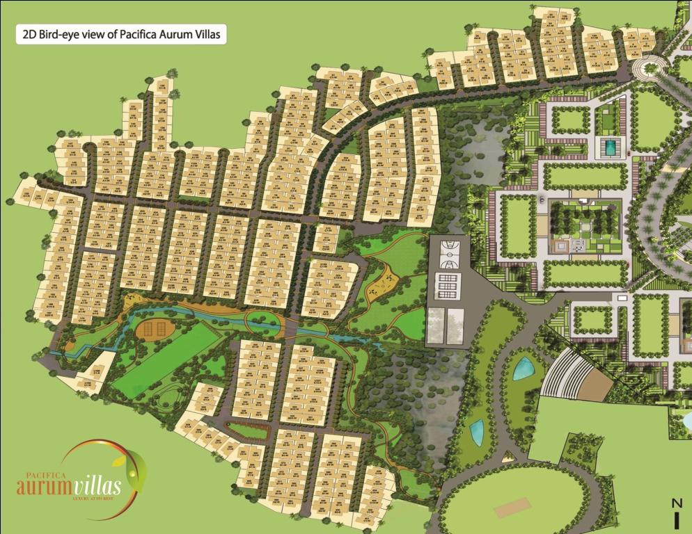 aurum villa site plan